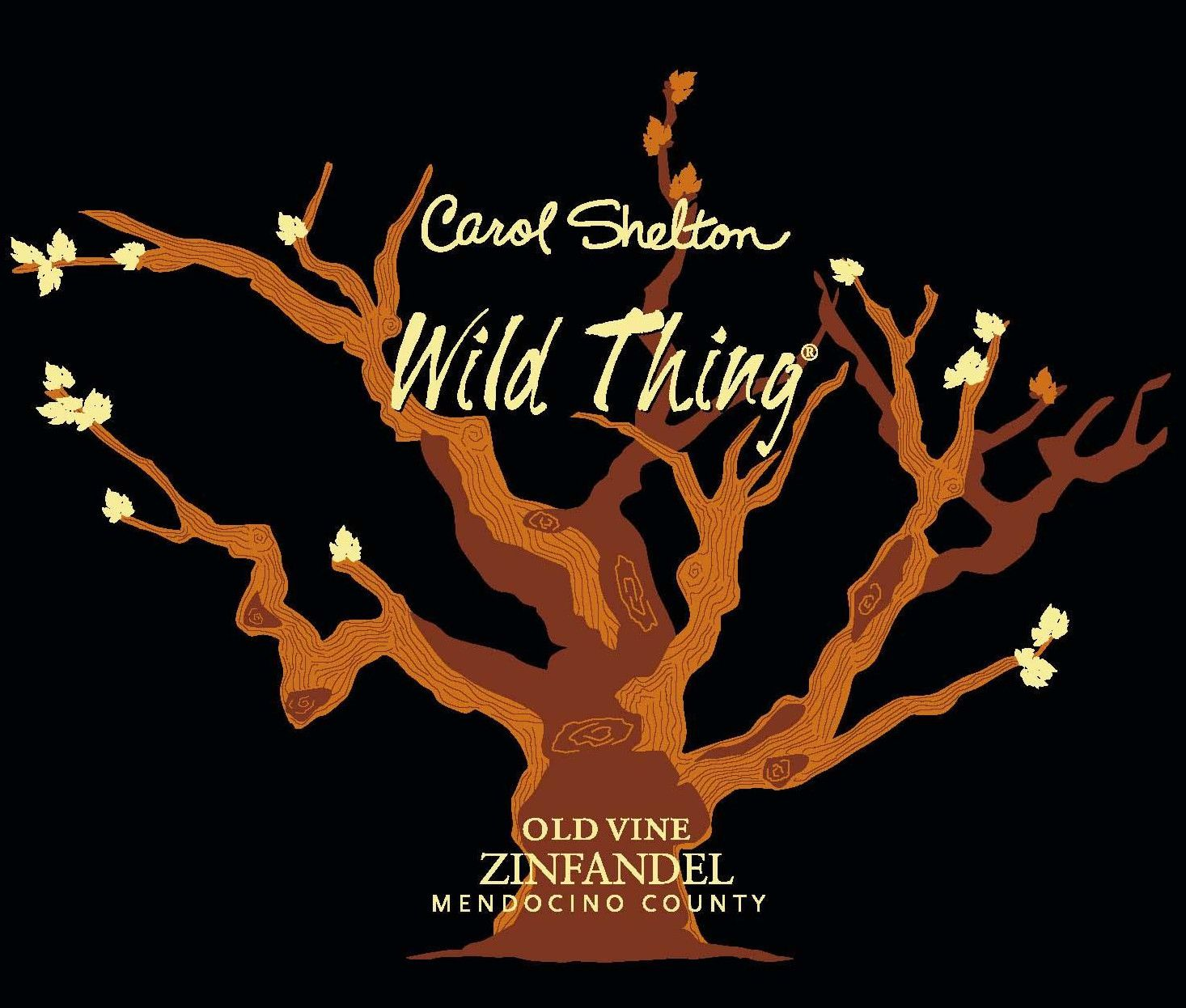 Carol Shelton Wild Thing Zinfandel 2010 Front Label