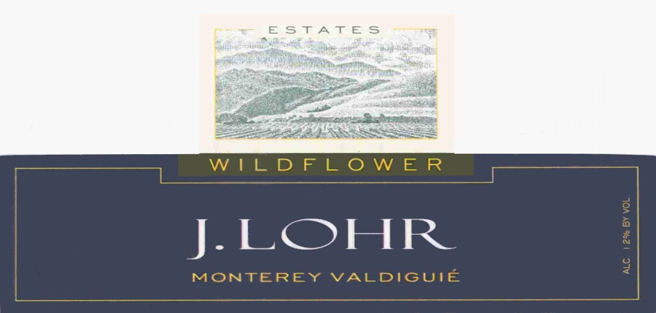 J. Lohr Wildflower Valdiguie 2010 Front Label