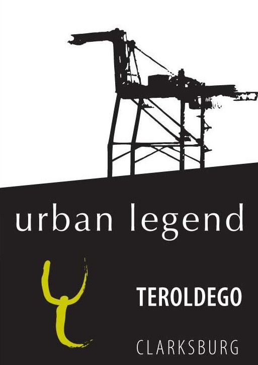 Urban Legend Cellars Teroldego 2010 Front Label