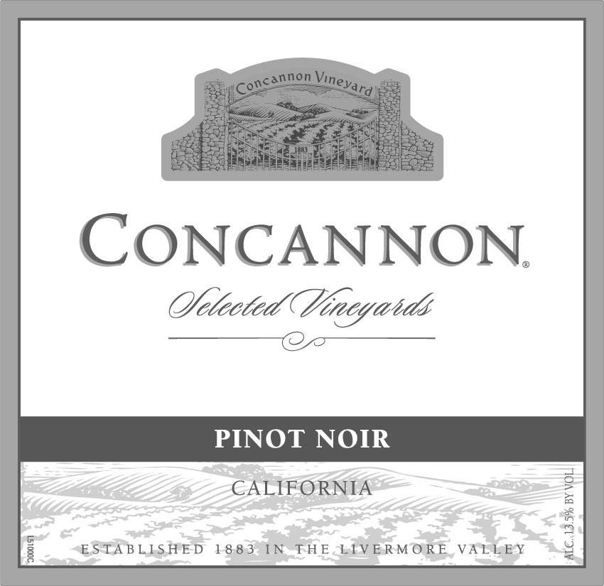 Concannon Selected Vineyards Petite Sirah 2011 Front Label