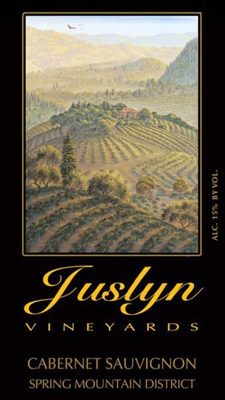 Juslyn Spring Mountain Cabernet Sauvignon 2011 Front Label