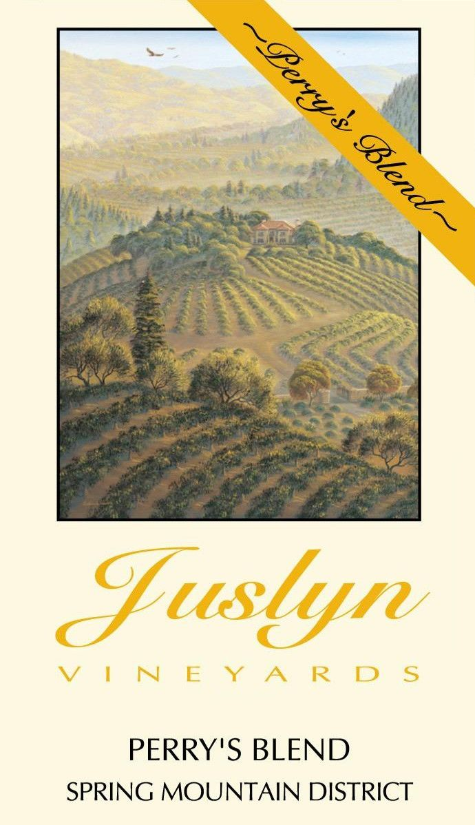 Juslyn Spring Mountain District Perry's Blend 2011 Front Label