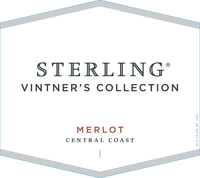 Sterling Vintner's Collection Merlot 2011 Front Label