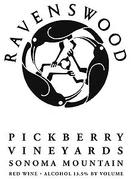 Ravenswood Pickberry Meritage 1999 Front Label