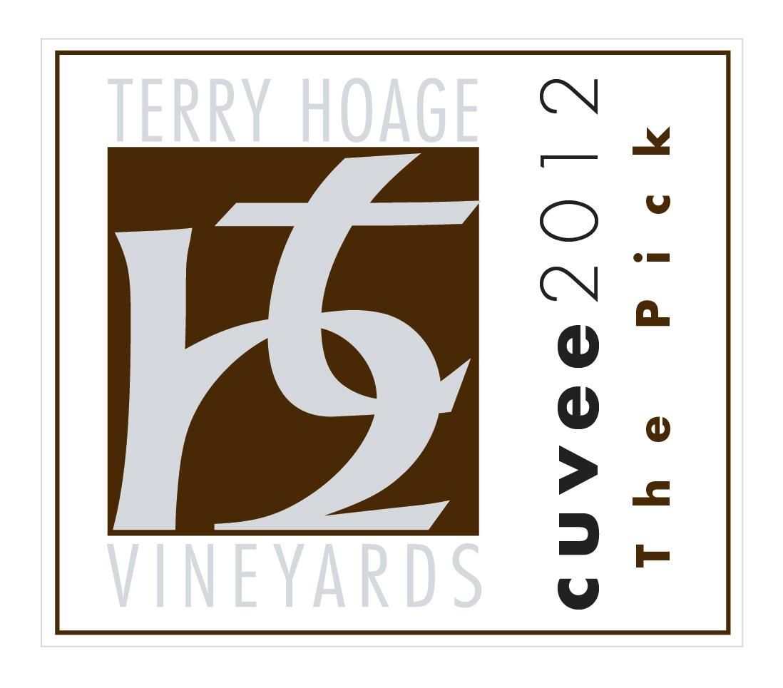 Terry Hoage The Pick Cuvee 2012 Front Label