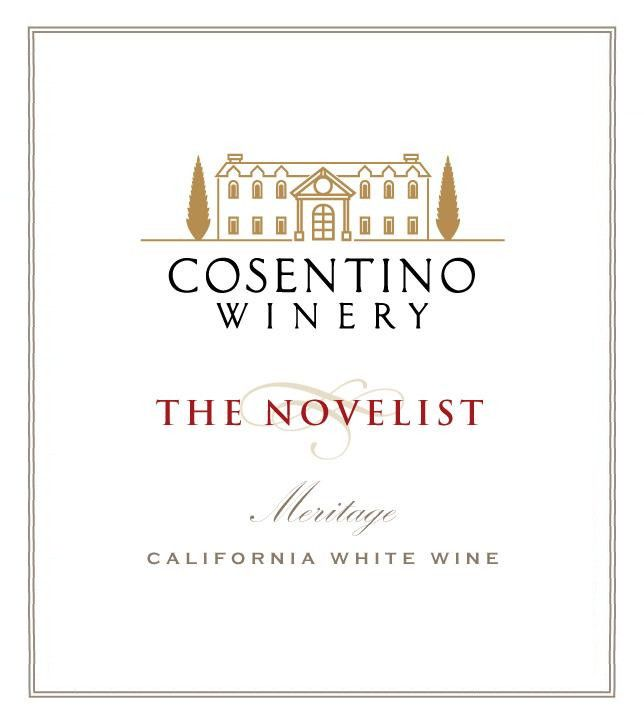 Cosentino The Novelist White Meritage 2013 Front Label