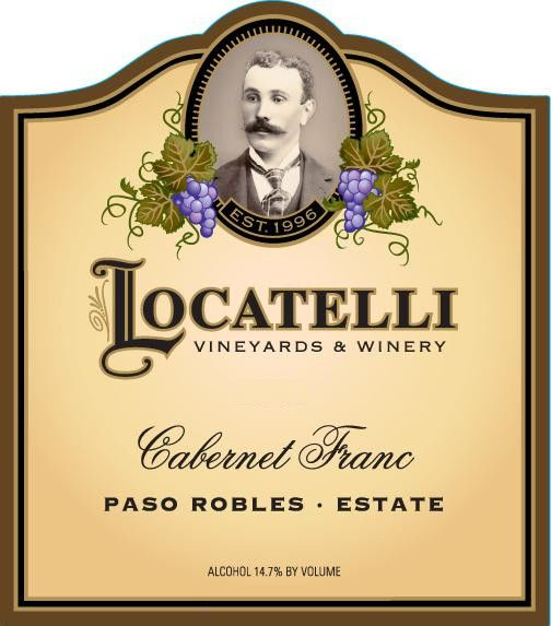 Locatelli Vineyards & Winery Cabernet Franc 2011 Front Label