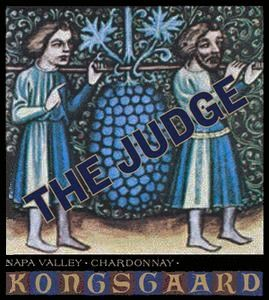 Kongsgaard The Judge Chardonnay 2013 Front Label