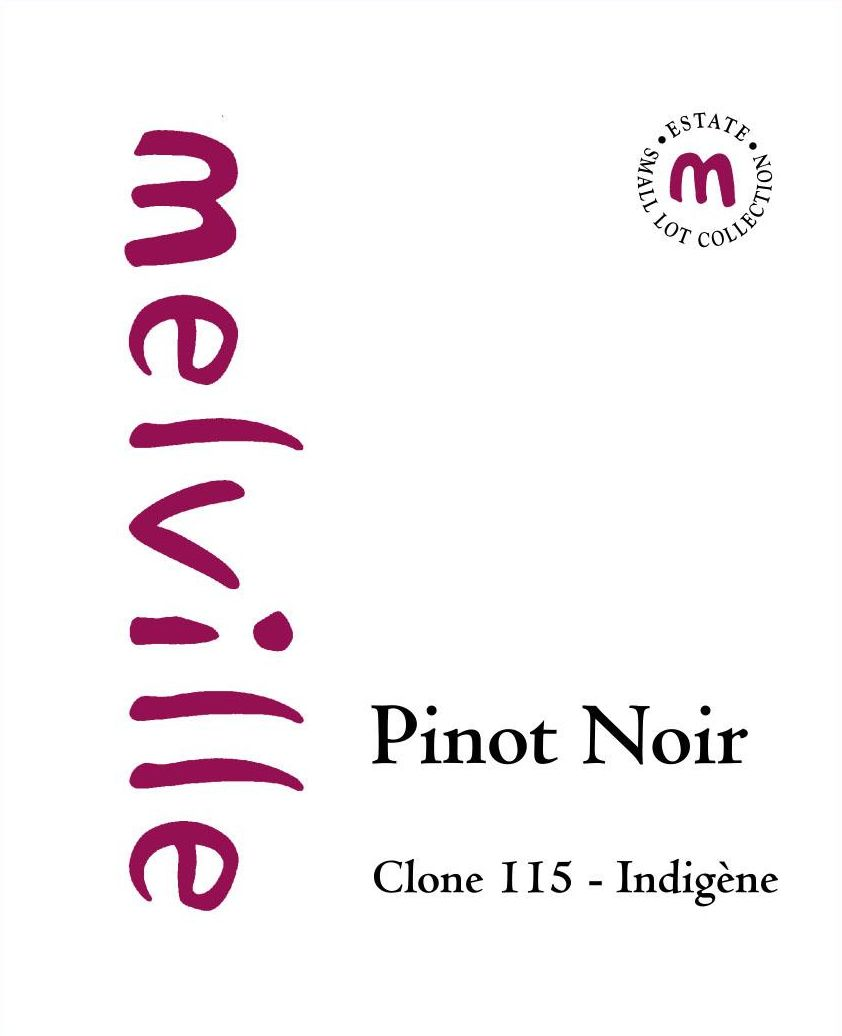 Melville Clone 115 Indigene Pinot Noir 2014 Front Label