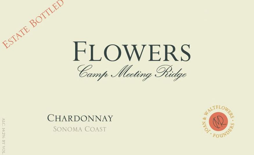 Flowers Camp Meeting Ridge Chardonnay 2014 Front Label