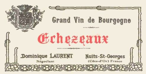 Dominique Laurent Echezeaux 1997 Front Label