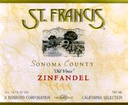 St. Francis Old Vines Zinfandel 1996 Front Label