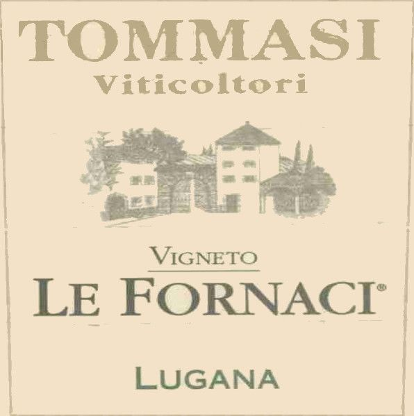 Tommasi Lugana Ie Fornaci 2003 Front Label