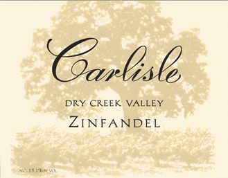 Carlisle Dry Creek Valley Zinfandel 2009 Front Label