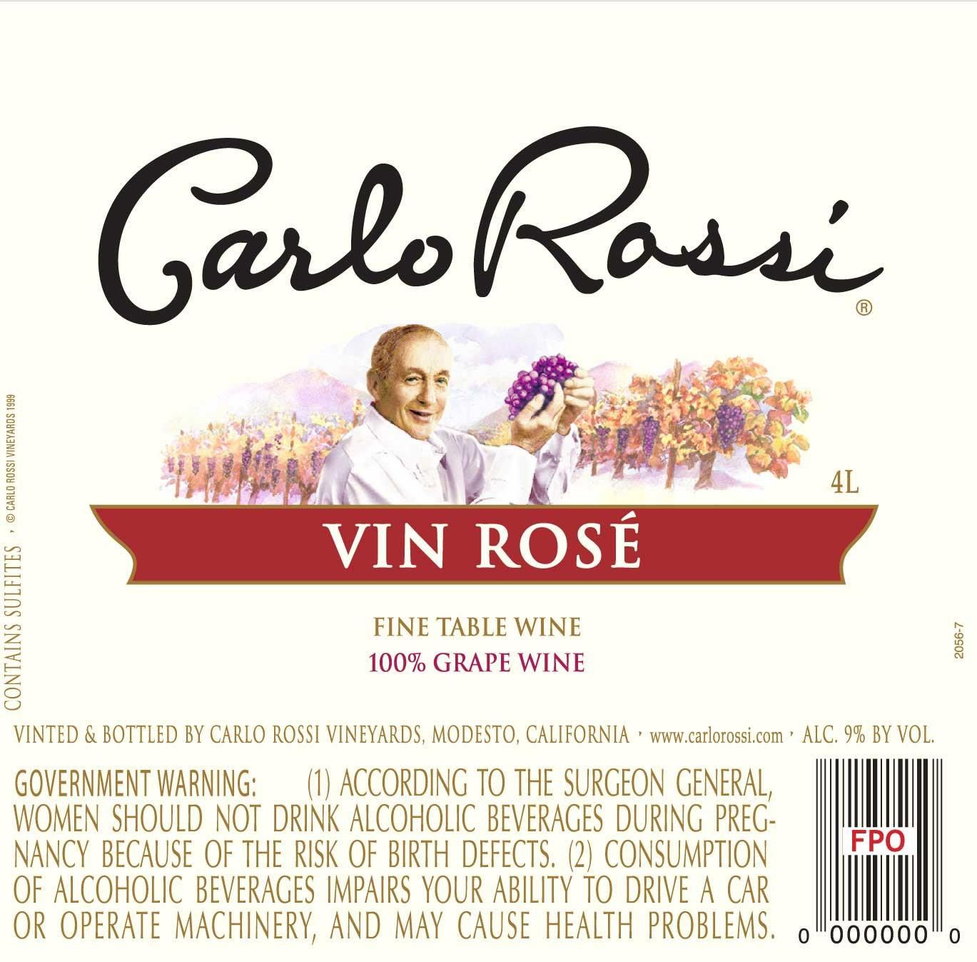 Carlo Rossi Wine Learn About Buy Online Wine Com