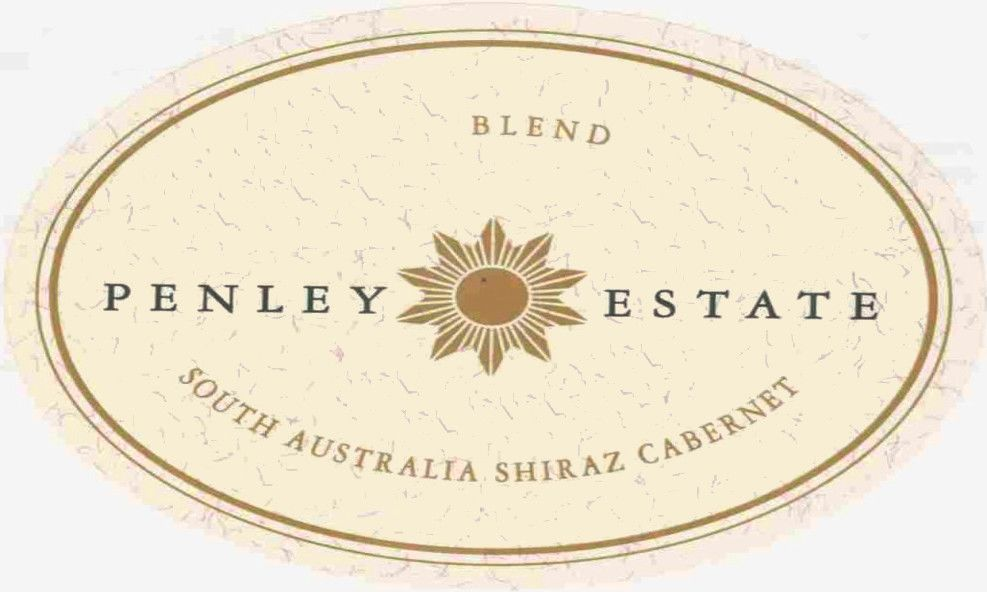 Penley Estate Shiraz Cabernet 2007 Front Label