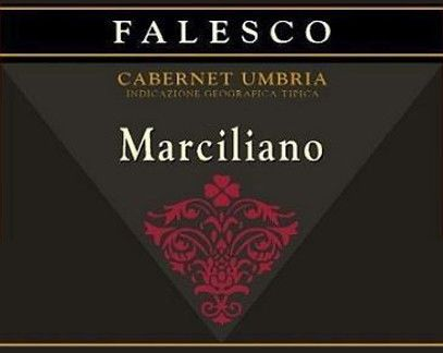 Falesco Marciliano 2007 Front Label