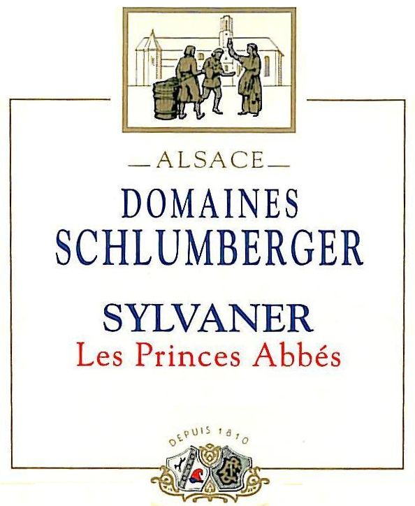 Domaines Schlumberger Sylvaner 2007 Front Label