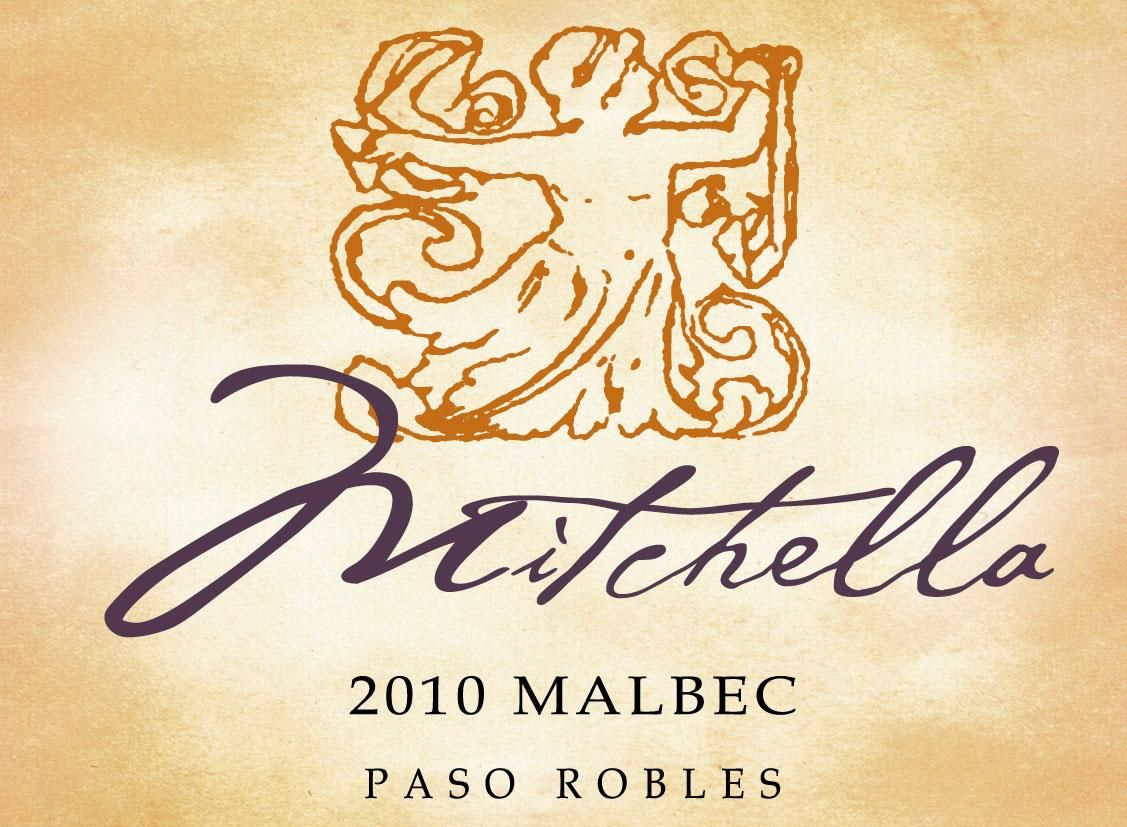 Mitchella Winery Malbec 2010 Front Label