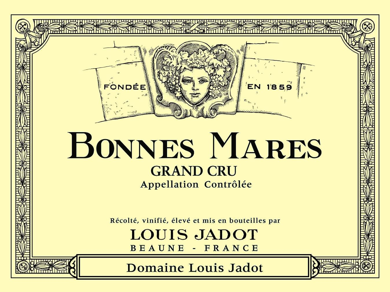 Louis Jadot Bonnes-Mares Grand Cru 2011 Front Label