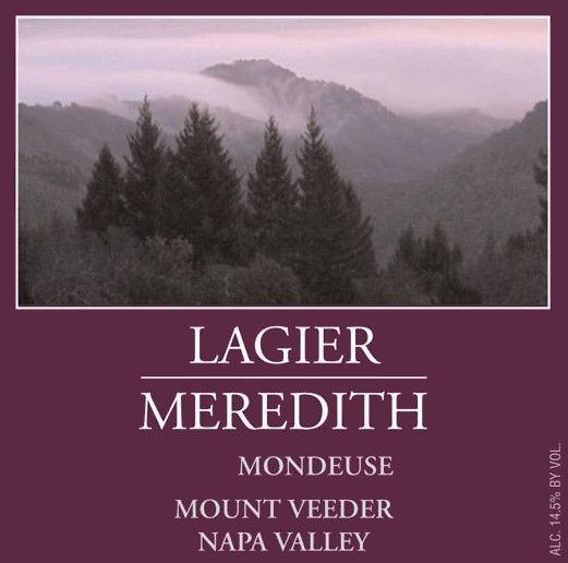 Lagier Meredith Mondeuse 2010 Front Label