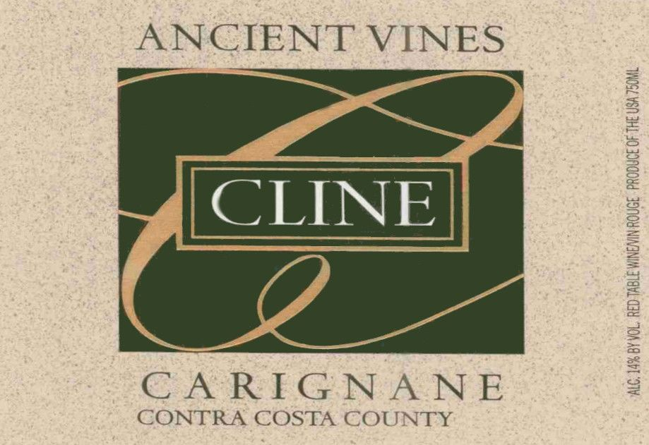 Cline Ancient Vines Carignane 2003 Front Label