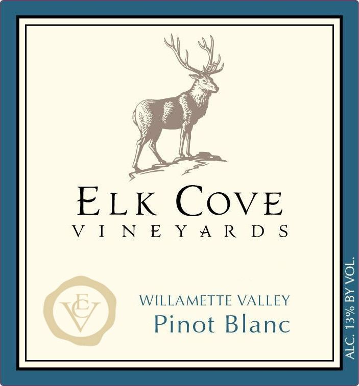 Elk Cove Pinot Blanc 2006 Front Label