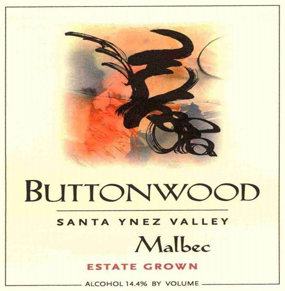 Buttonwood Farms Estate Malbec 2010 Front Label
