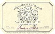 Michele Chiarlo Valle Del Sole Barbera 1997 Front Label
