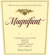Franciscan Estate Magnificat 1999 Front Label