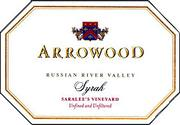 Arrowood Saralee's Vineyard Syrah 1999 Front Label