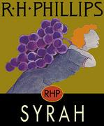 RH Phillips Syrah 2000 Front Label