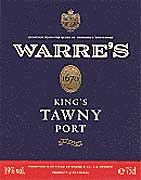 Warre's Reserve Tawny Port 1987 Front Label