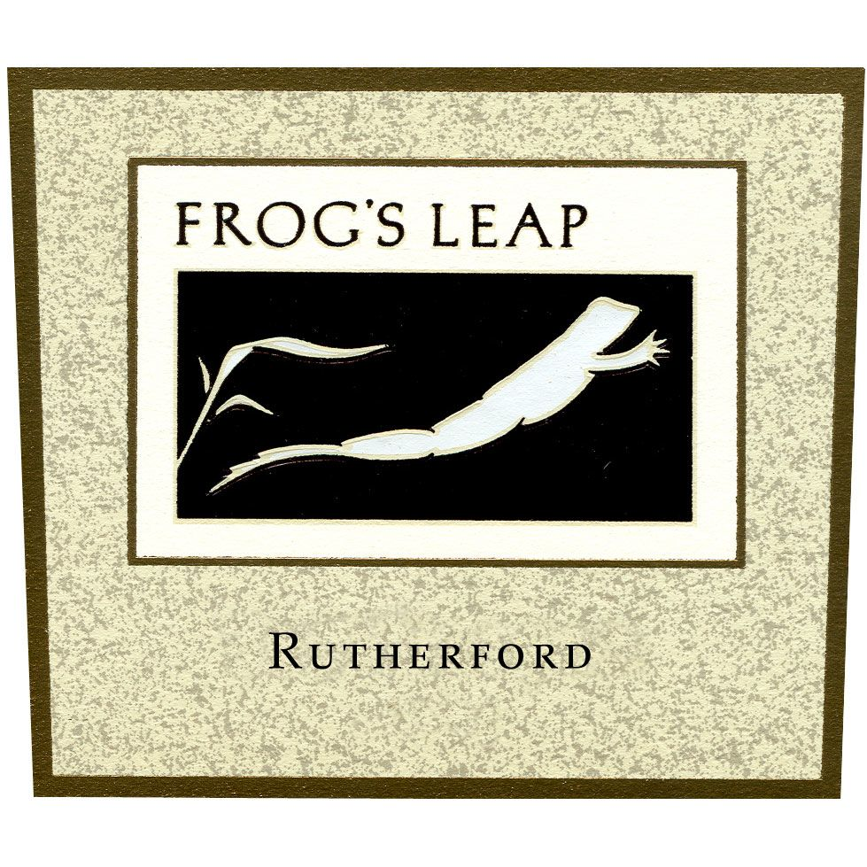 Frog's Leap Rutherford 1999 Front Label