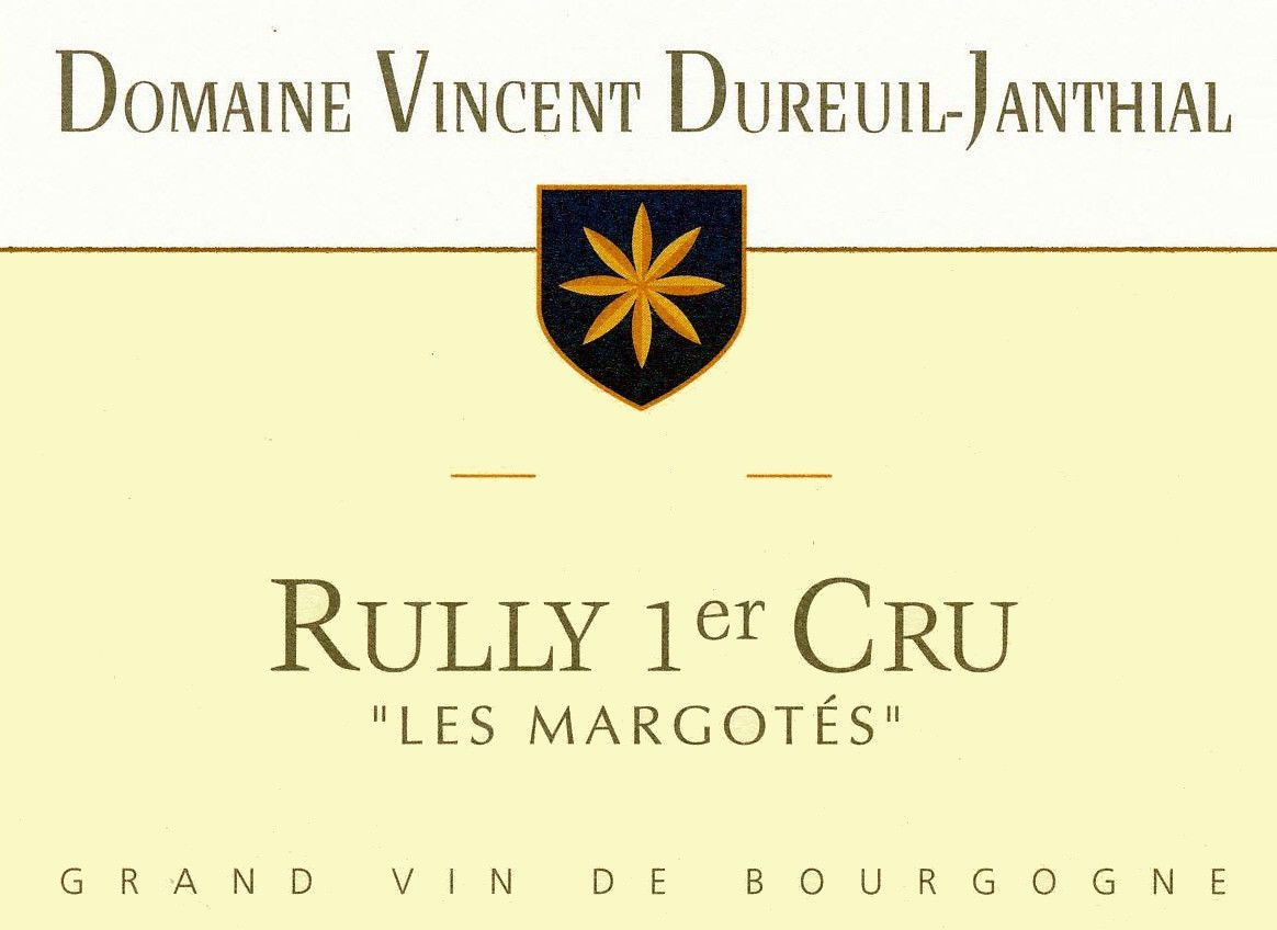 Dureuil-Janthial Rully Les Margotes Premier Cru 2014 Front Label