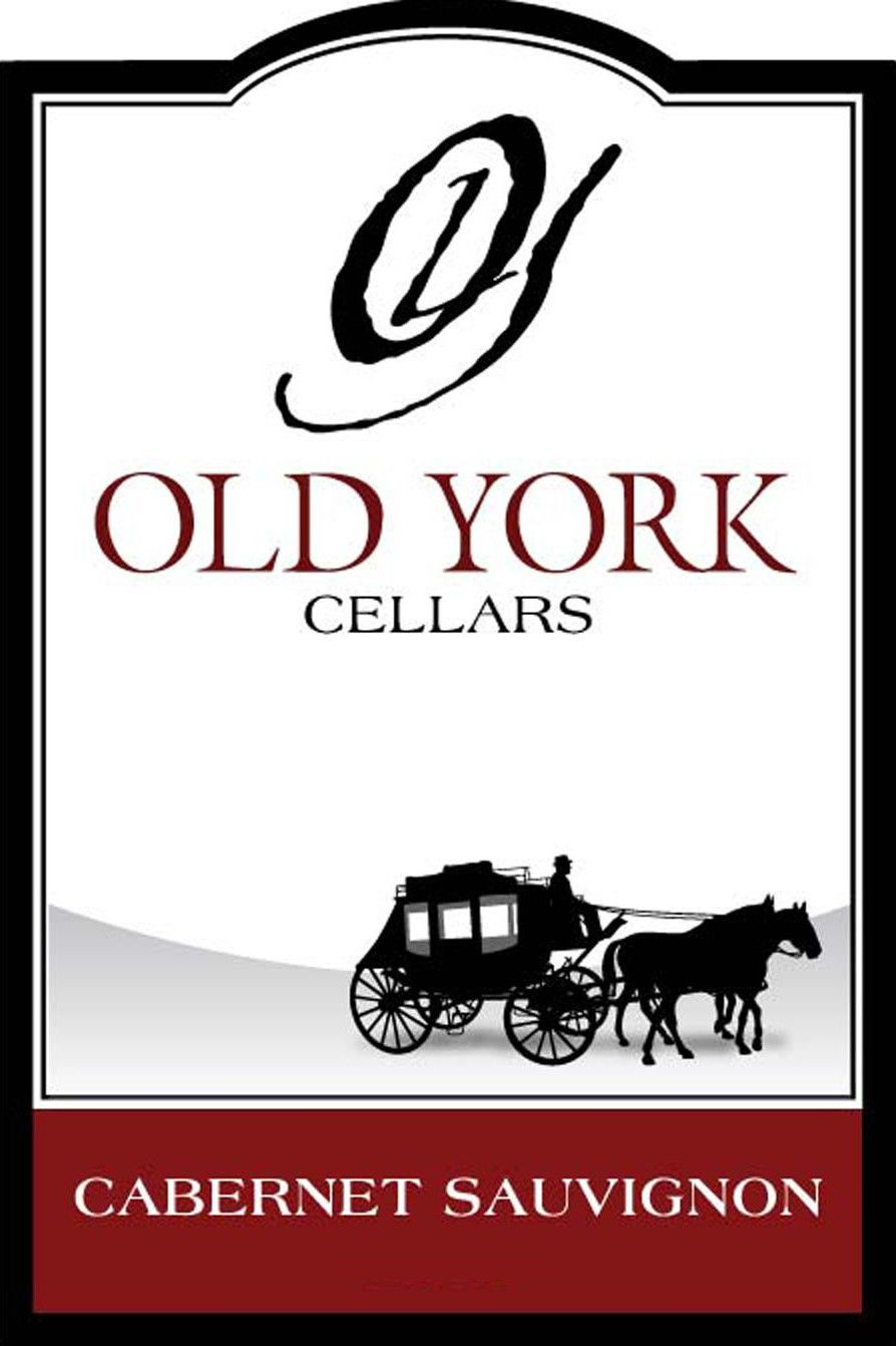 Old York Cellars Cabernet Sauvignon 2014 Front Label