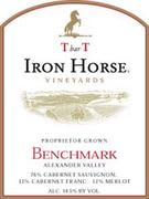 Iron Horse T bar T Benchmark 1999 Front Label