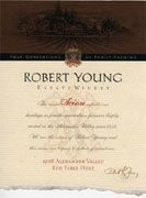 Robert Young Scion Estate Red 1998 Front Label