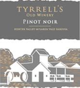 Tyrrell's Old Winery Pinot Noir 2001 Front Label