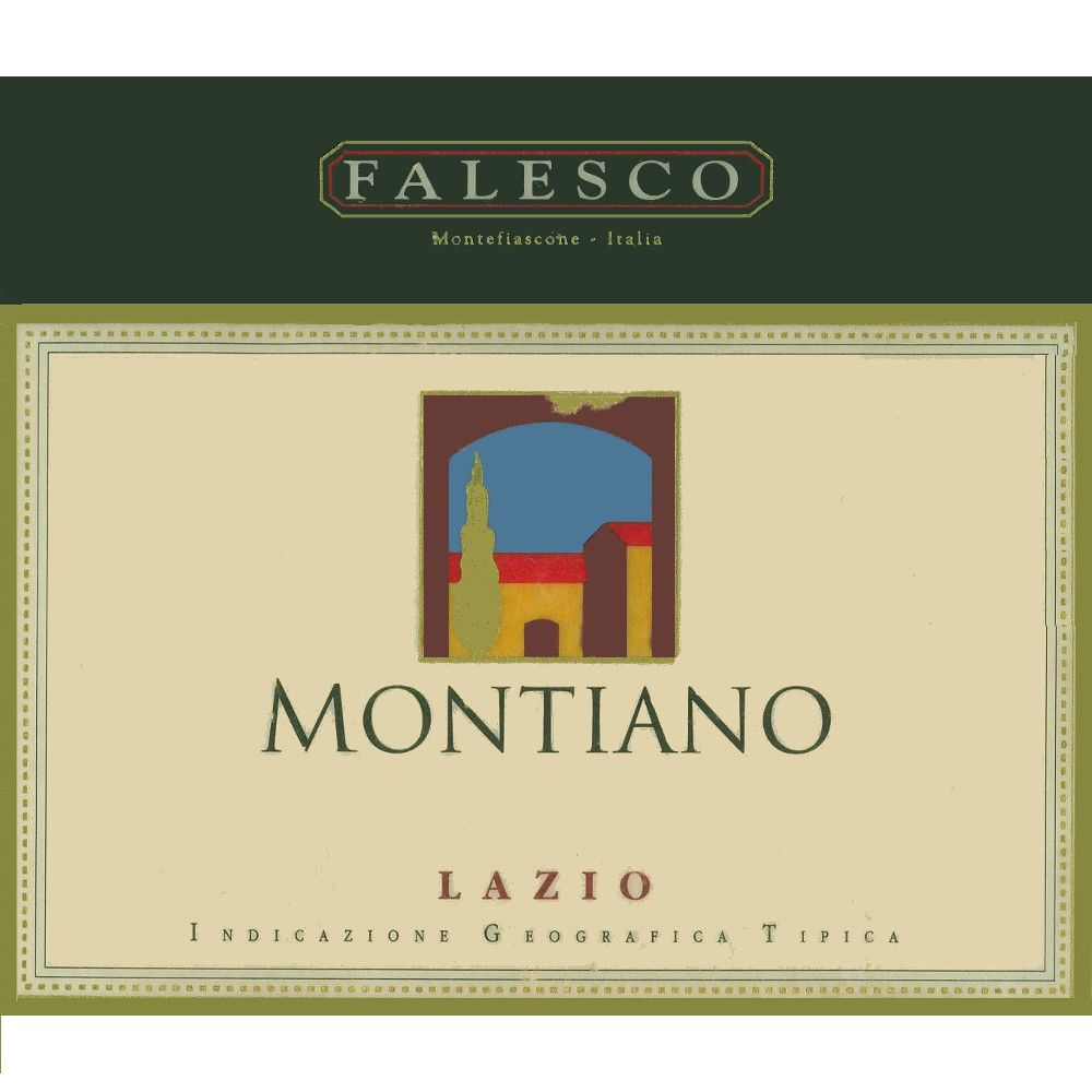 Falesco Montiano 2000 Front Label