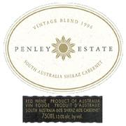 Penley Estate Shiraz Cabernet 1998 Front Label