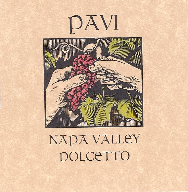 Pavi Wines Dolcetto 2007 Front Label