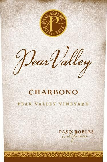Pear Valley Charbono 2013 Front Label