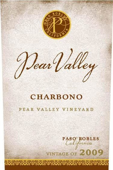 Pear Valley Charbono 2009 Front Label