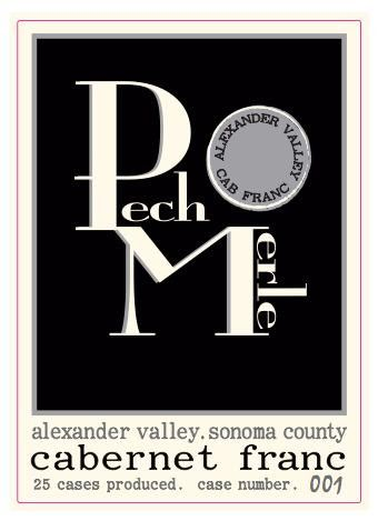 Pech Merle Winery Cabernet Franc 2011 Front Label