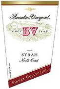Beaulieu Vineyard Signet Collection Syrah 1998 Front Label