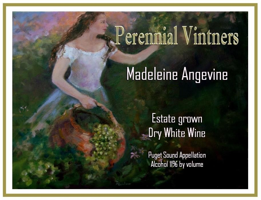 Perennial Vintners Dry Madeleine Angevine 2008 Front Label