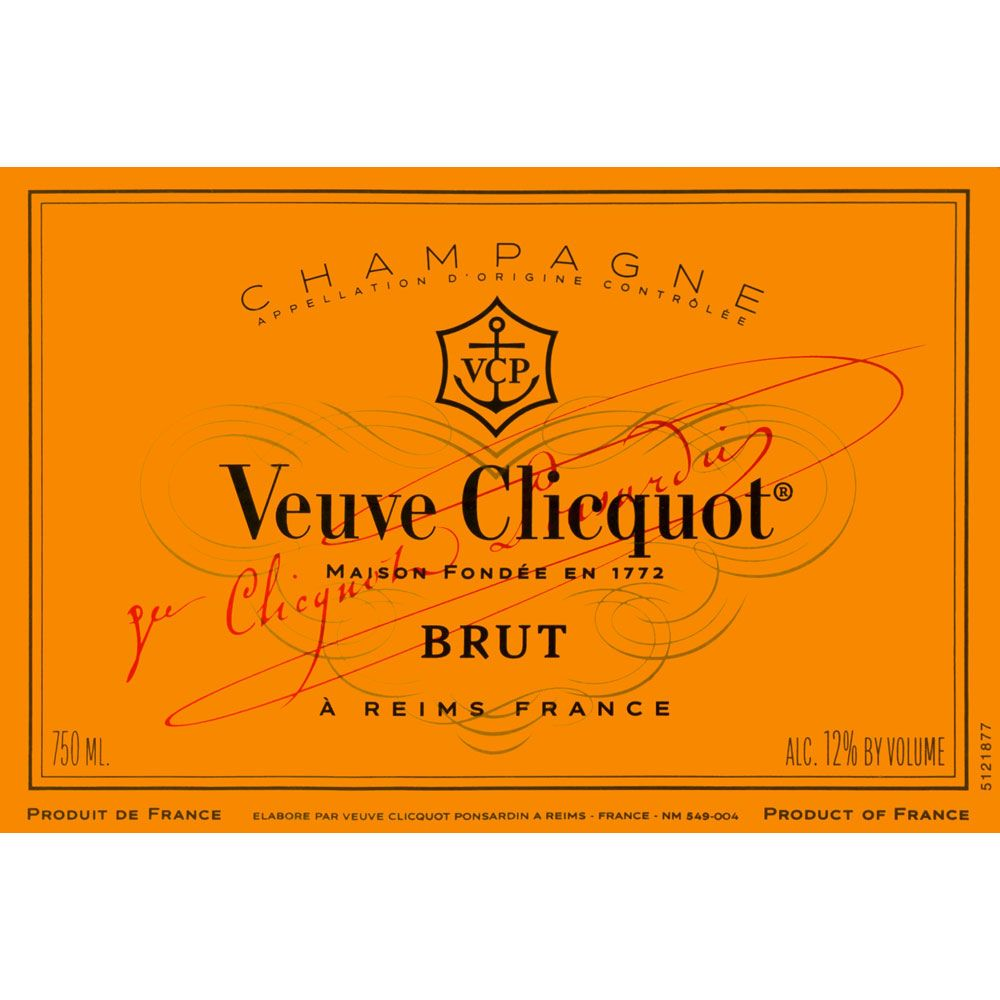 Veuve Clicquot Yellow Label Brut Front Label