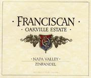 Franciscan Estate Zinfandel 1999 Front Label