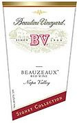Beaulieu Vineyard Beauzeaux Signet Collection 2000 Front Label